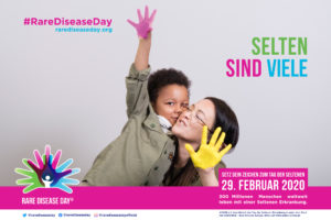 Poster zum Tag der Seltenen Erkrankungen